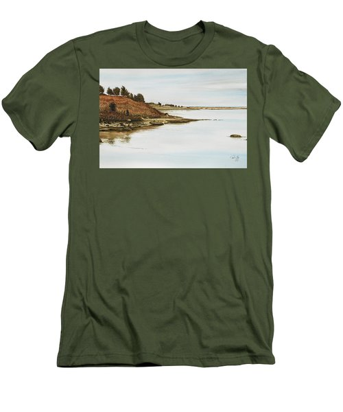 Chilmark Mv Stonewall Pond Men's T-Shirt (Athletic Fit)