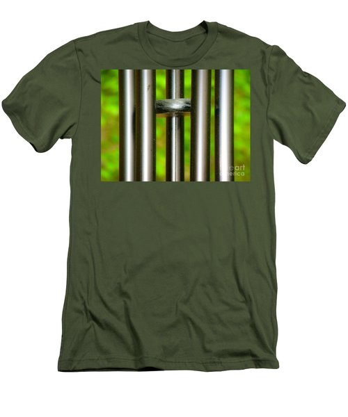 Chiming In Men's T-Shirt (Slim Fit) by Rand Herron