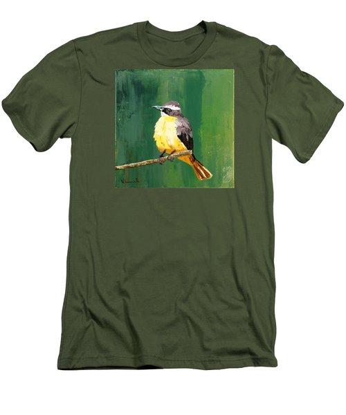 Chirping Charlie Men's T-Shirt (Slim Fit) by Nathan Rhoads