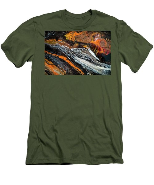 Chobezzo Abstract Series 1 Men's T-Shirt (Slim Fit) by Lilia D