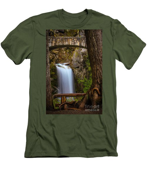 Christine Falls Men's T-Shirt (Athletic Fit)