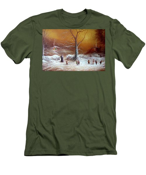 A Shire Christmas  Men's T-Shirt (Athletic Fit)