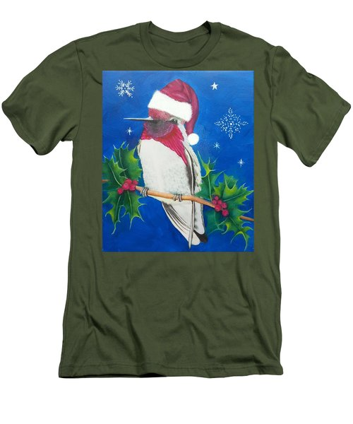 Christmas Hummer Men's T-Shirt (Athletic Fit)