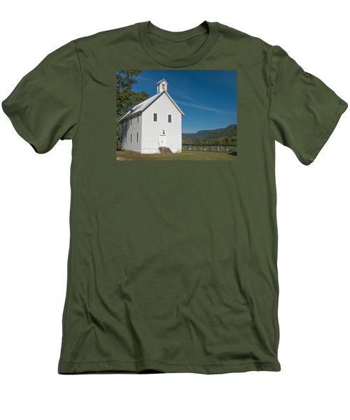 Church House In The Ozarks Men's T-Shirt (Athletic Fit)