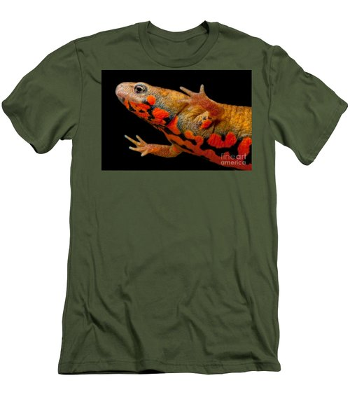 Chuxiong Fire Belly Newt Men's T-Shirt (Slim Fit) by Dant� Fenolio