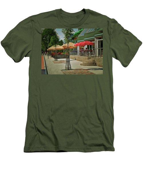 City Cafe Men's T-Shirt (Athletic Fit)