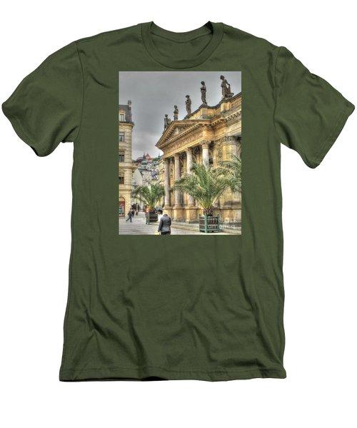 Karlovy Vary Chehia Men's T-Shirt (Slim Fit) by Yury Bashkin