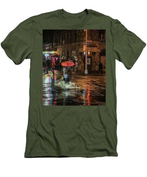 City Colors Men's T-Shirt (Slim Fit) by Jeffrey Friedkin
