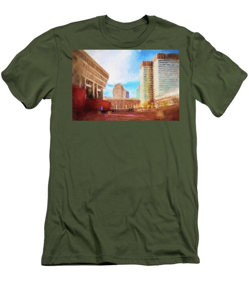 City Hall At Government Center Men's T-Shirt (Athletic Fit)