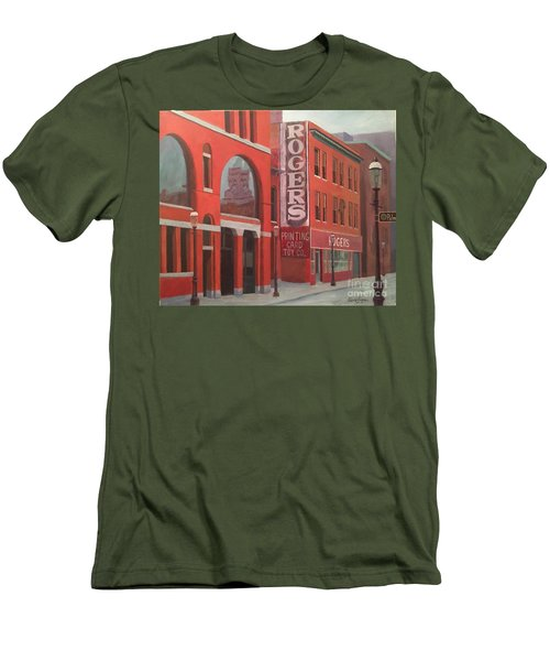 City Hall Reflection Men's T-Shirt (Athletic Fit)