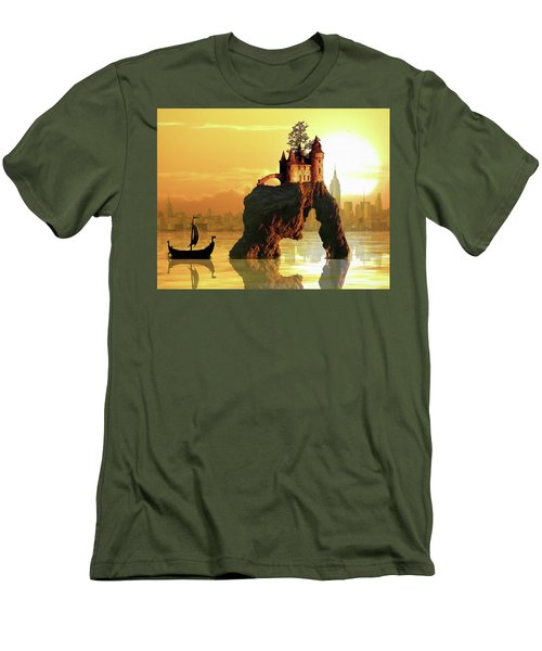 City Stack Men's T-Shirt (Athletic Fit)