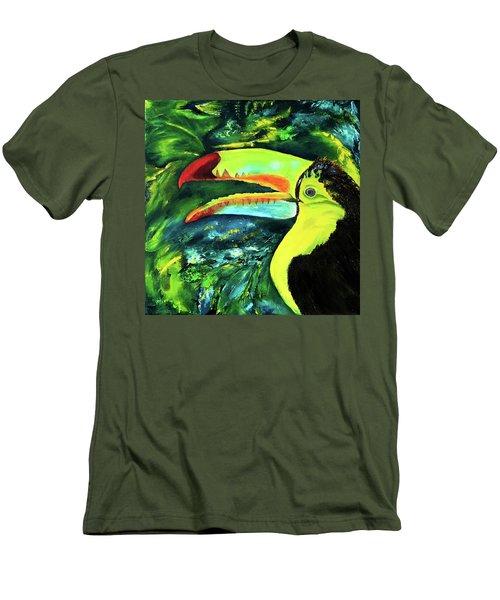 Clara's Toucan Men's T-Shirt (Athletic Fit)