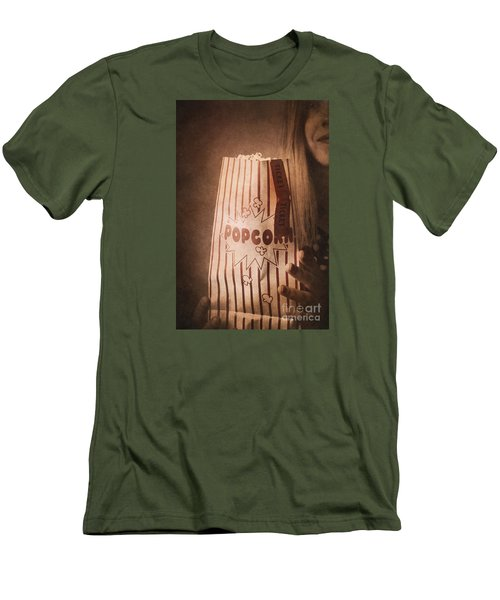 Men's T-Shirt (Athletic Fit) featuring the photograph Classic Hollywood Flicks by Jorgo Photography - Wall Art Gallery