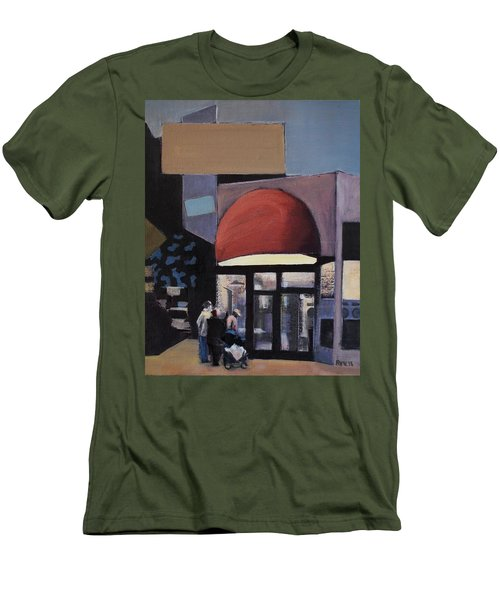Clean - O - Matic Men's T-Shirt (Slim Fit) by Richard Willson