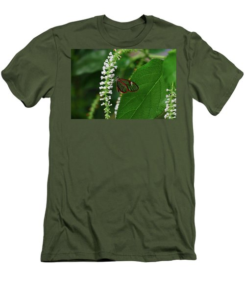 Clearwing Butterfly Men's T-Shirt (Athletic Fit)