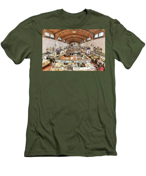 Cleveland Westside Market  Men's T-Shirt (Athletic Fit)