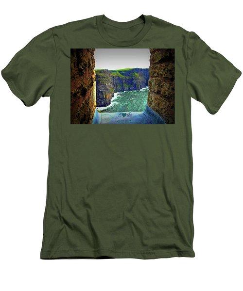 Cliffs Personalized Men's T-Shirt (Athletic Fit)