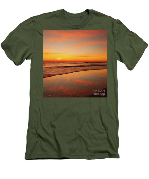 Men's T-Shirt (Athletic Fit) featuring the photograph Cloud Dance  by John F Tsumas