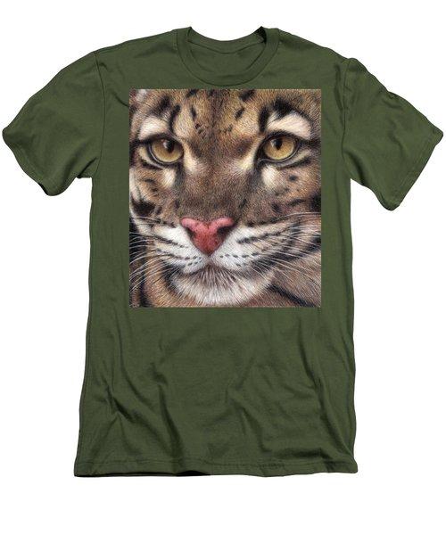 Clouded Leopard Men's T-Shirt (Athletic Fit)