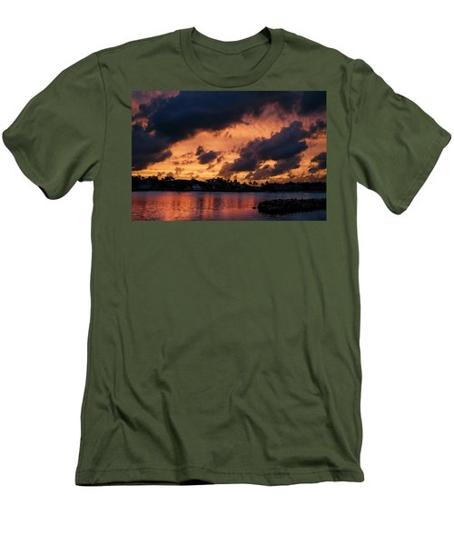 Men's T-Shirt (Athletic Fit) featuring the photograph Cloudscape by Laura Fasulo
