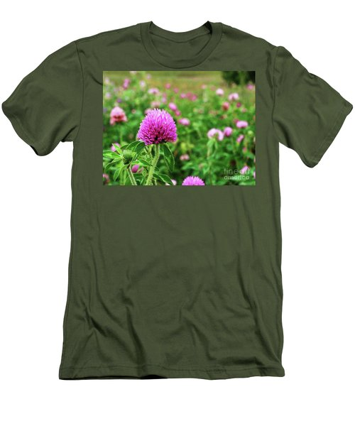 Clover Field Men's T-Shirt (Athletic Fit)