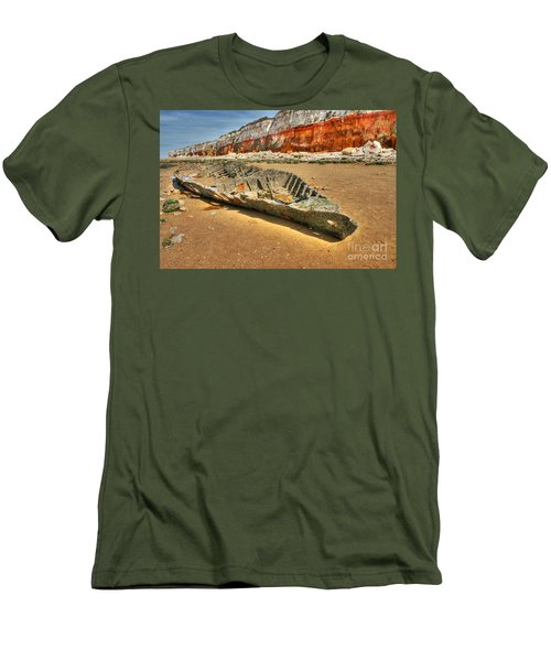 Coastal Skeleton Men's T-Shirt (Athletic Fit)
