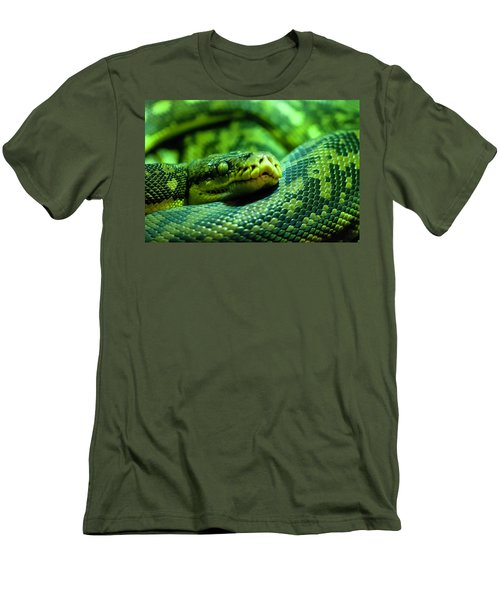 Coiled Calm Men's T-Shirt (Athletic Fit)