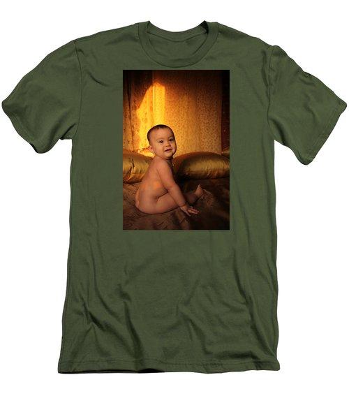 Coka Lokes Men's T-Shirt (Slim Fit) by Jez C Self
