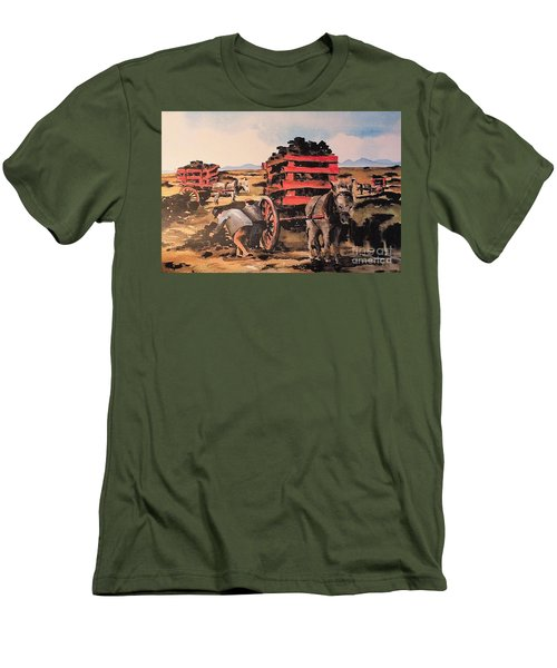 Collecting Turf  Men's T-Shirt (Athletic Fit)