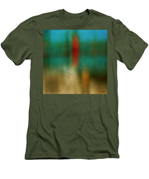 Color Abstraction Xxvi Men's T-Shirt (Slim Fit) by David Gordon