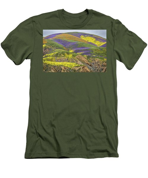 Men's T-Shirt (Slim Fit) featuring the photograph Color Mountain II by Peter Tellone