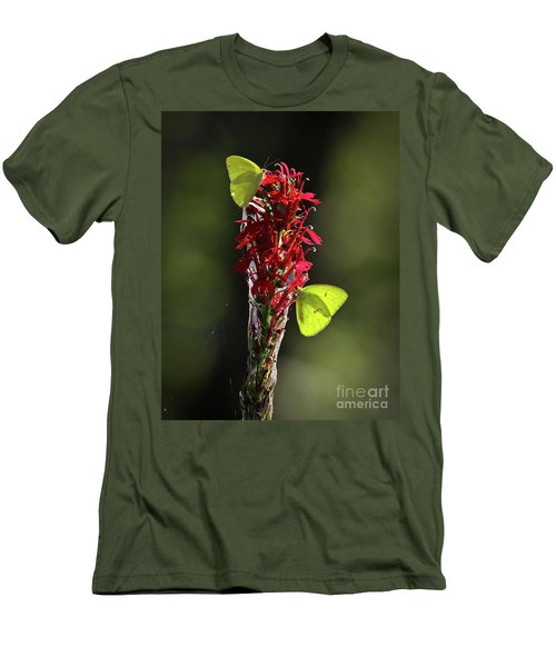 Men's T-Shirt (Slim Fit) featuring the photograph Color On Citico by Douglas Stucky