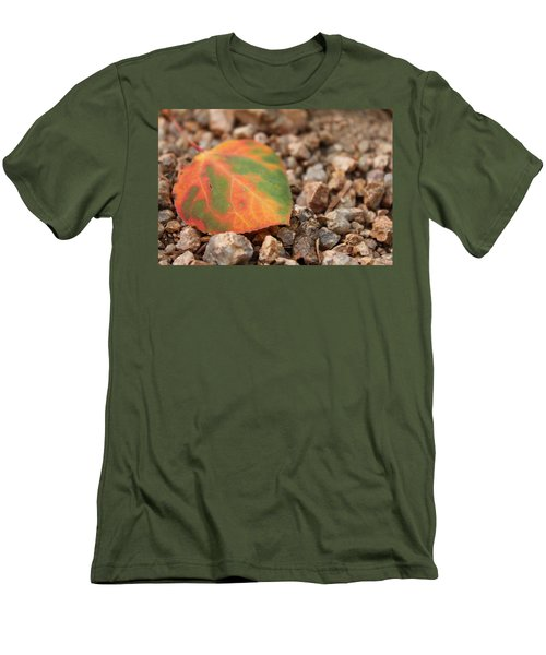 Men's T-Shirt (Slim Fit) featuring the photograph Colorado Fall Colors by Christin Brodie