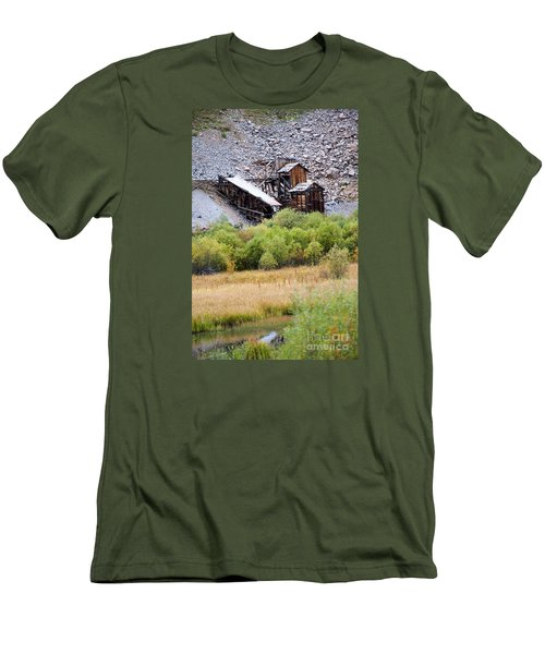 Colorado Silver Mine  Men's T-Shirt (Athletic Fit)