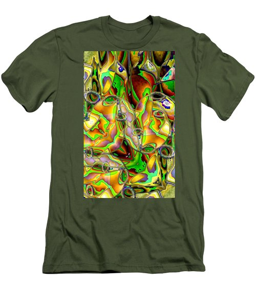 Colored Film Men's T-Shirt (Slim Fit) by Ron Bissett