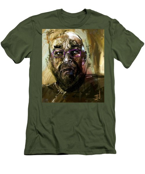 Colored Glasses Men's T-Shirt (Slim Fit) by Jim Vance