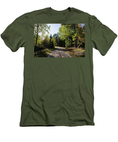 Men's T-Shirt (Athletic Fit) featuring the photograph Colorful Adventure by Kennerth and Birgitta Kullman