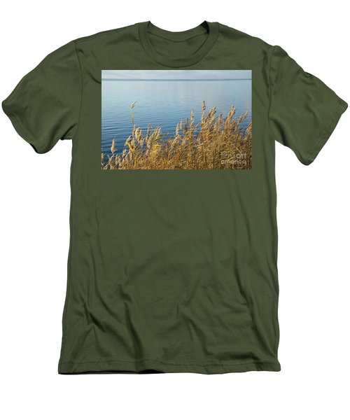 Colorful Reeds Men's T-Shirt (Slim Fit) by Kennerth and Birgitta Kullman
