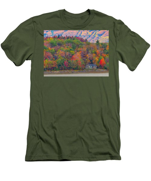 Colors In Canada Men's T-Shirt (Athletic Fit)