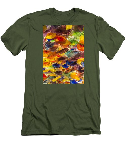 Men's T-Shirt (Slim Fit) featuring the photograph Colors by Tyson and Kathy Smith