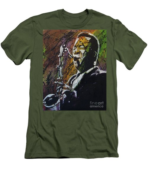 Coltrane Men's T-Shirt (Slim Fit) by Stuart Engel