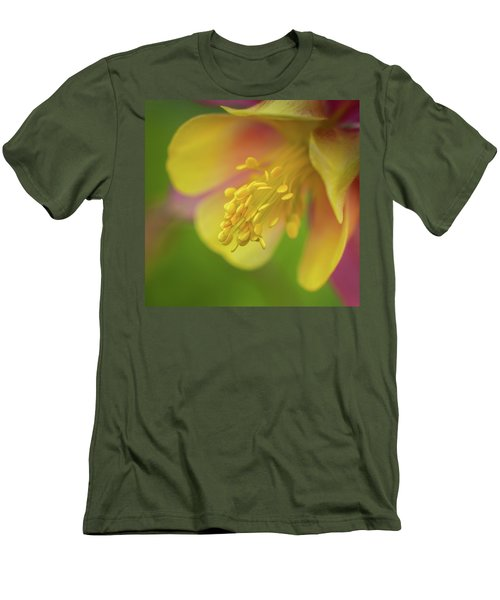 Men's T-Shirt (Slim Fit) featuring the photograph Columbine by Greg Nyquist