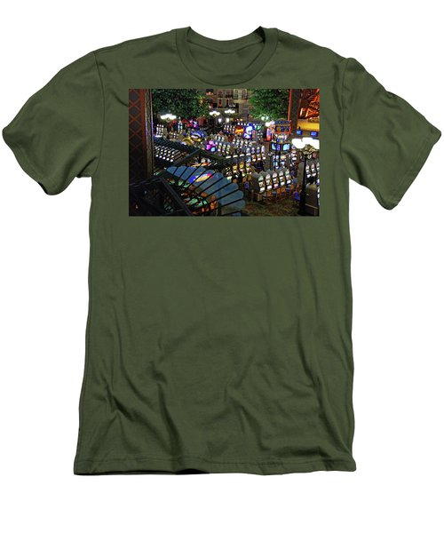 Men's T-Shirt (Athletic Fit) featuring the photograph Come Play With Me by John Schneider