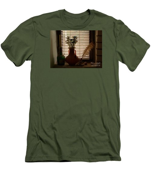 Men's T-Shirt (Slim Fit) featuring the photograph Composition by AmaS Art