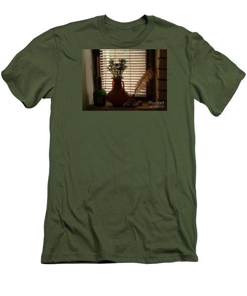 Composition Men's T-Shirt (Slim Fit) by AmaS Art