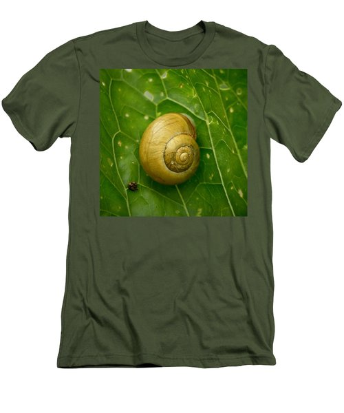 Men's T-Shirt (Slim Fit) featuring the photograph Conch by Jouko Lehto