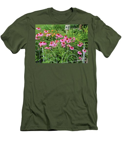 Cone Plants Men's T-Shirt (Athletic Fit)