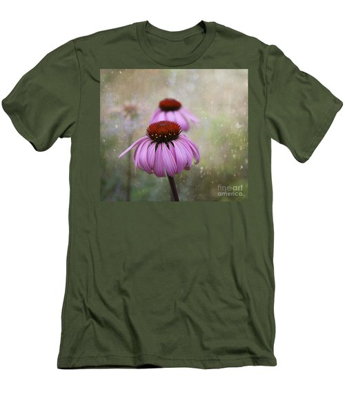 Coneflower Dream Men's T-Shirt (Athletic Fit)