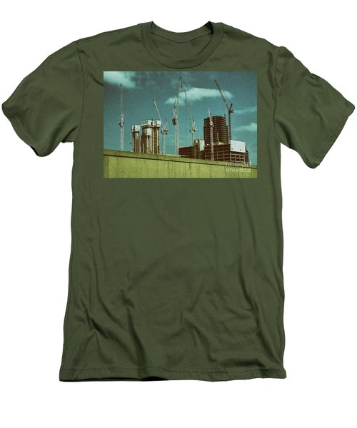 Construction Works In Stratford Men's T-Shirt (Athletic Fit)