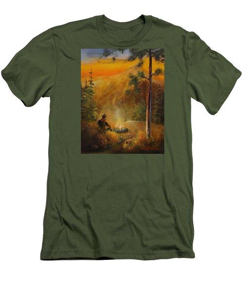 Contemplating The Journey Men's T-Shirt (Athletic Fit)